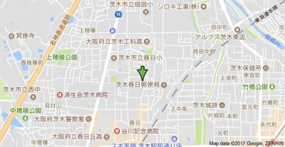 【地図】サンウィステリア春日