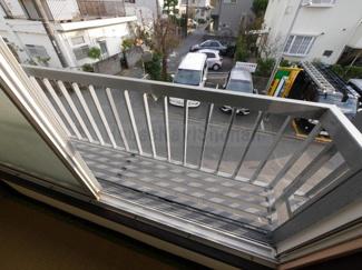 【バルコニー】鵠沼桜が岡1丁目アパート