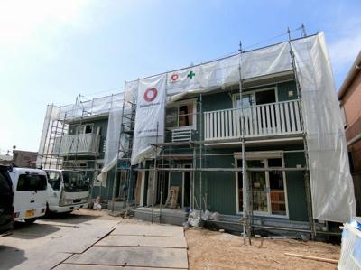 2018年6月中旬完成予定!ペットOKの新築2階建てアパートです♪「新百合ヶ丘」駅徒歩圏内!2沿線利用可能なので通勤通学にも便利です♪※施工中※