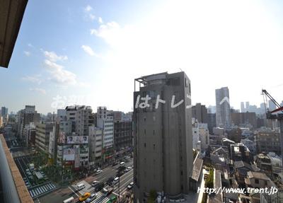 【展望】ガラステーション四谷三丁目