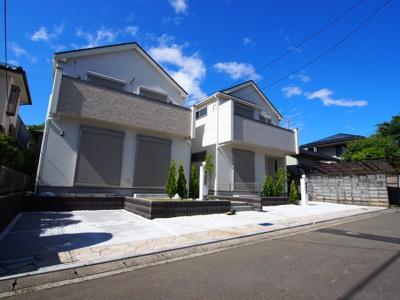 【外観】保土ヶ谷区川島町全2棟 新築戸建