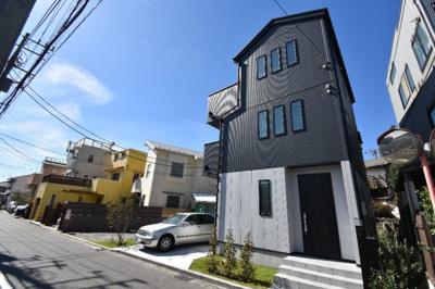 【外観】稲村ケ崎2丁目新築一戸建て(海見えます)