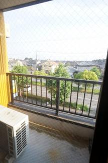 【バルコニー】中央ビル3階