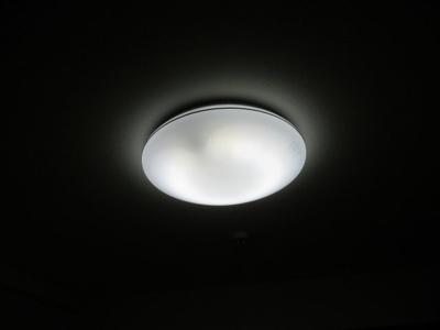 照明付きです