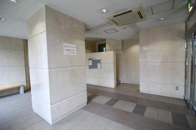 【ロビー】ウェルブ六甲道3番街4番館