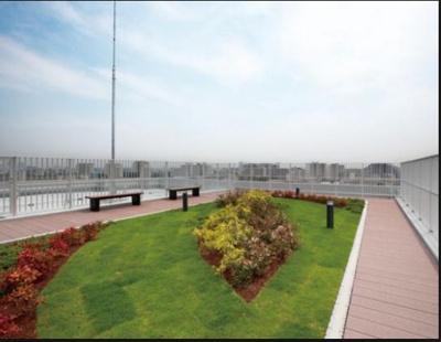 プレサンスロジェ池尻大橋の屋上