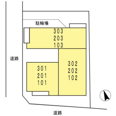 【区画図】リベルテ大森