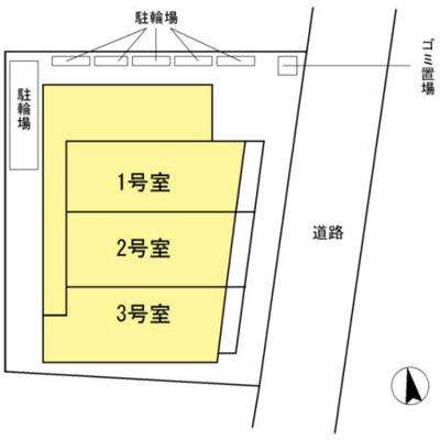 【区画図】ガーデンハウス