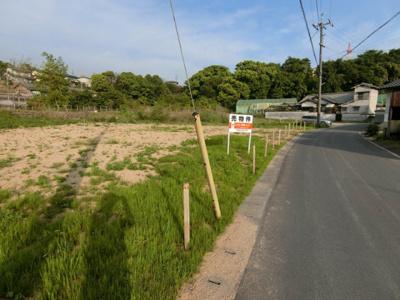 【前面道路含む現地写真】土地 玉島勇崎_北側