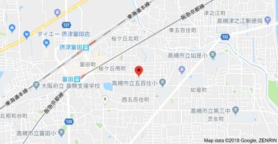 【地図】ハイツ南桜ヶ丘 (株)Roots