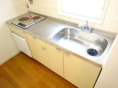 【キッチン】この価格でバストイレ別♪