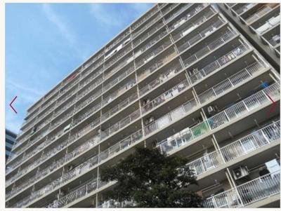 【外観】八戸ノ里第三ガーデンハイツB棟