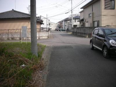 【前面道路含む現地写真】熊谷市瀬南 430万 土地