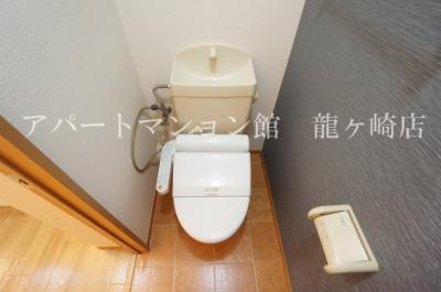 【トイレ】クレスト藤ヶ丘ⅡB棟
