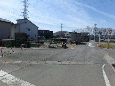 【前面道路含む現地写真】高崎市下佐野町 売地