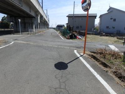 【展望】高崎市下佐野町 売地