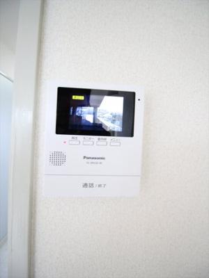 来訪者のわかるTVモニターホン