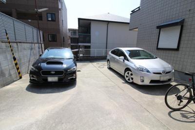 【駐車場】片山ハイツ