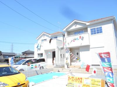 【外観】岩槻区 徳力 全2棟 2号棟 南欧風住宅 らすと1棟