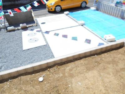 【駐車場】岩槻区 徳力 全2棟 2号棟 南欧風住宅 らすと1棟