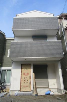 【外観】八尾市上之島南4丁目新築一戸建て完成済