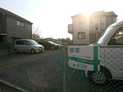【外観】ドウェル・マリ(Ⅱ)駐車場