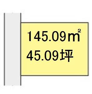 【区画図】【売地】第三中学校区・56408