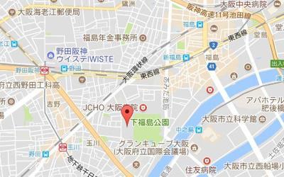 【地図】ユニライフ福島
