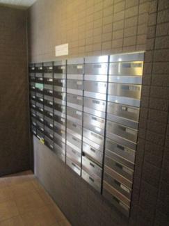 郵便ポスト ダイアパレス草加ヴィラリゾート707号室