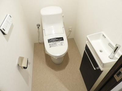 【トイレ】プレミストタワー大阪新町ローレルコート