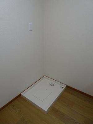 大竹ビル 洗濯機置き場は室内(DK)にあります!