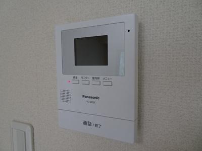 大竹ビル モニター付インターホンがあります!