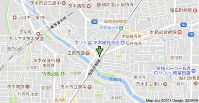 【地図】へーベルメゾン信