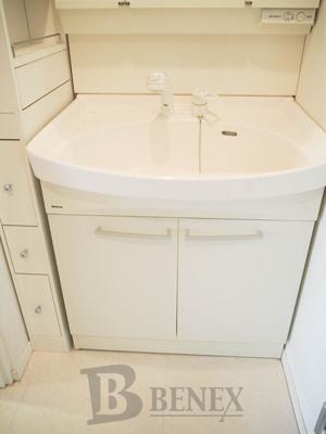 牛込ハイムの洗面所です