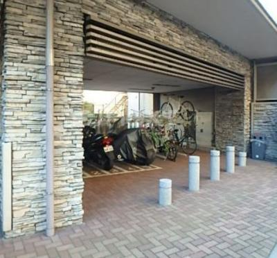 ガラシティ駒沢大学の駐輪場