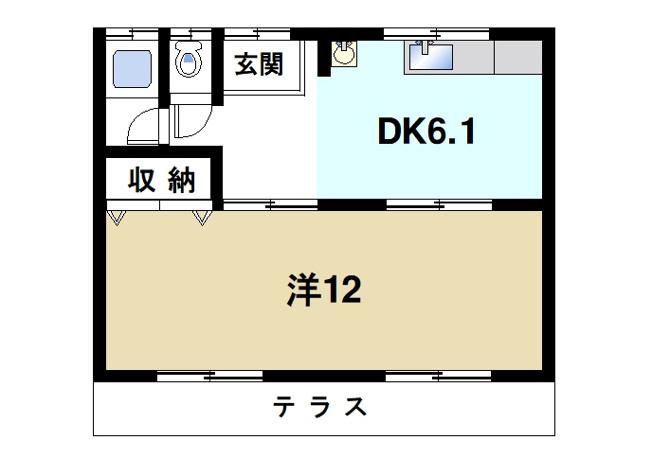 広くて快適な居室が魅力的です