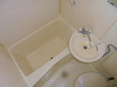 【浴室】728湯里ハイツ