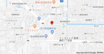 【地図】第二萬荘 株式会社Roots