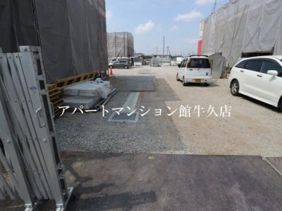 【駐車場】ルーチェC(谷田部1144)