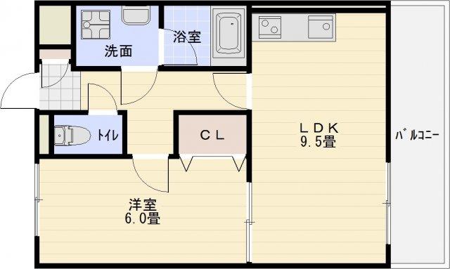 八尾市 近鉄八尾駅 1LDK