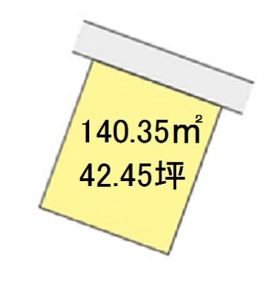 【区画図】【売地】河西中学校区・120669