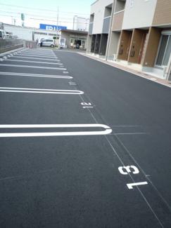 【外観】児島小川町 フラット駐車場