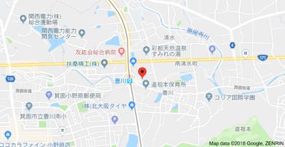 【地図】プラスコート豊川駅前