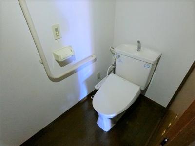 【トイレ】ロイヤルマンション上砂