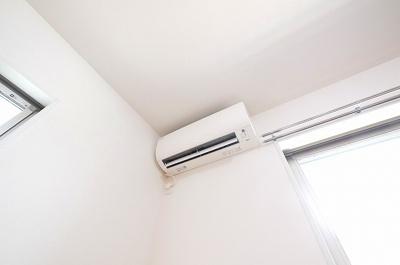 全室にエアコンが付いてます