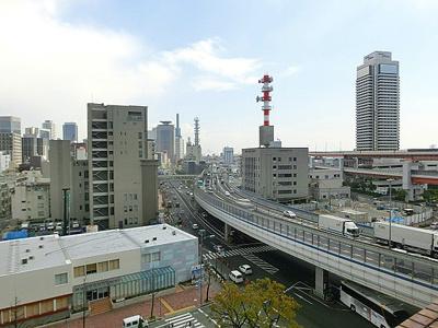 【バルコニー】プレサンス神戸メリケンパーク前