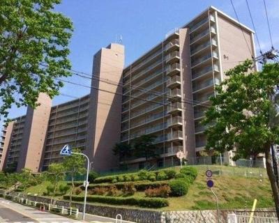 【外観】北須磨団地D1棟