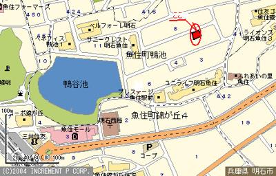 【地図】メゾンうがしま2