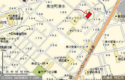 【地図】第3増田ハイツ