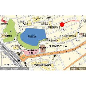 【地図】メゾンうがしまⅠ